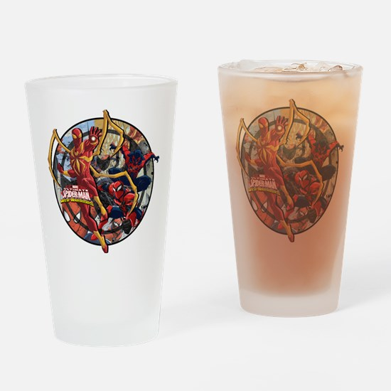 Web Warriors Iron Spider Drinking Glass