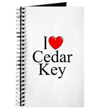 """I Love Cedar Key"" Journal"