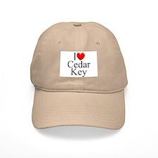 """""""I Love Cedar Key"""" Baseball Cap"""
