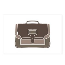 Briefcase Postcards (Package of 8)