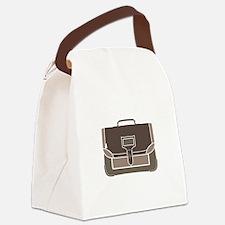 Briefcase Canvas Lunch Bag