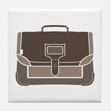 Briefcase Tile Coaster