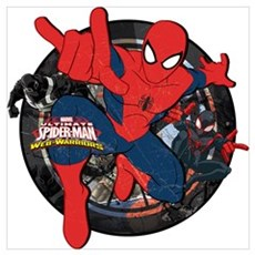 Web Warriors Spider-Man Wall Art Poster