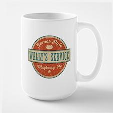 Wally's Service - Gomer Pyle Large Mug
