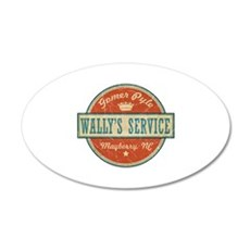 Wally's Service - Gomer Pyle 22x14 Oval Wall Peel