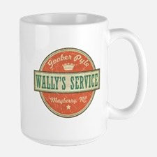 Wally's Service - Goober Pyle Large Mug