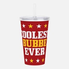 Coolest Bubbe Ever Acrylic Double-wall Tumbler
