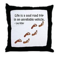 Soul Road Trip Throw Pillow