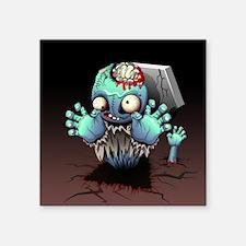 Zombie Monster Cartoon Sticker