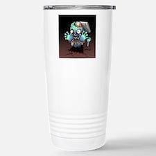 Zombie Monster Cartoon Travel Mug