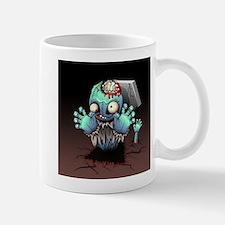 Zombie Monster Cartoon Mugs