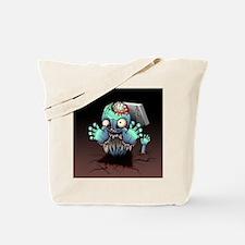 Zombie Monster Cartoon Tote Bag