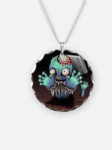 Zombie Monster Cartoon Necklace