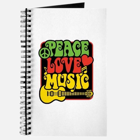 Unique Reggae one love Journal