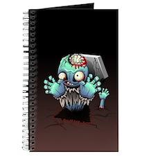 Zombie Monster Cartoon Journal
