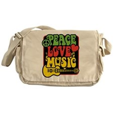 Unique Rasta Messenger Bag