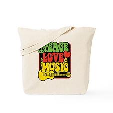 Unique Rasta colors Tote Bag