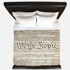 We The People w/ Constitution King Duvet