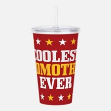 Coolest Godmother Ever Acrylic Double-wall Tumbler