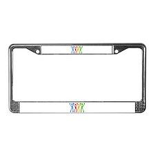 Cute 10x10 License Plate Frame