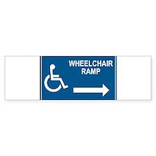 Cute Ramp Bumper Sticker
