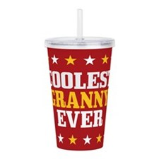 Coolest Granny Ever Acrylic Double-wall Tumbler