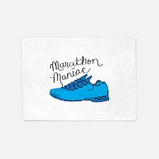 Marathon Maniac 5'x7'Area Rug