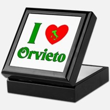 I Love Orvieto Keepsake Box