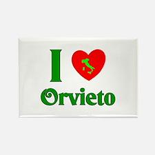 I Love Orvieto Rectangle Magnet