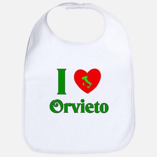 I Love Orvieto Bib