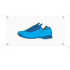 Blue Sneaker Banner