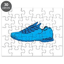 Blue Sneaker Puzzle