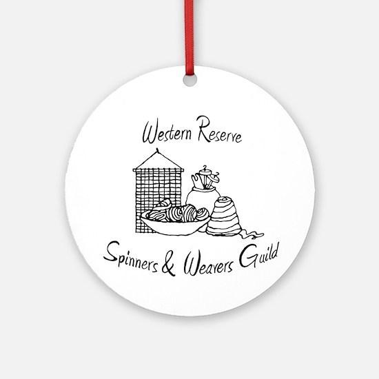 WRSW shop Round Ornament