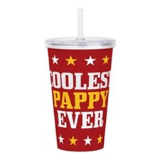 Coolest Pappy Ever Acrylic Double-wall Tumbler