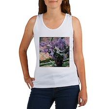 Cassatt Lilacs Vase Tank Top