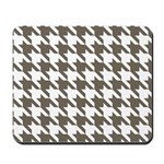 Houndstooth Brown Mousepad