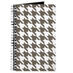 Houndstooth Brown Journal