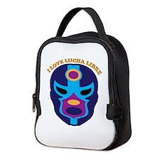 I Love Lucha Libre Neoprene Lunch Bag