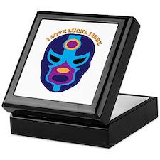 I Love Lucha Libre Keepsake Box