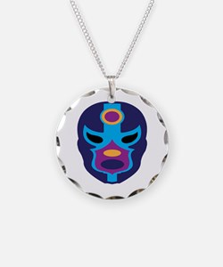 Lucha Libre Mask Necklace