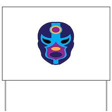 Lucha Libre Mask Yard Sign