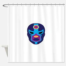 Lucha Libre Mask Shower Curtain