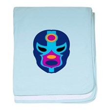 Lucha Libre Mask baby blanket