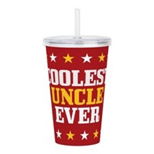 Coolest Uncle Ever Acrylic Double-wall Tumbler
