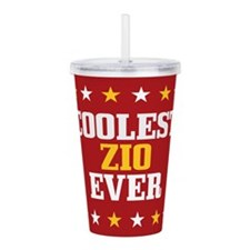 Coolest Zio Ever Acrylic Double-wall Tumbler