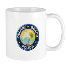 Delray Beach Police Mugs