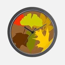 Be Leaf Wall Clock