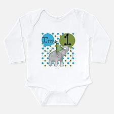 Elephant 1st Birthday Body Suit