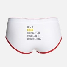 Its A Cello Thing Women's Boy Brief