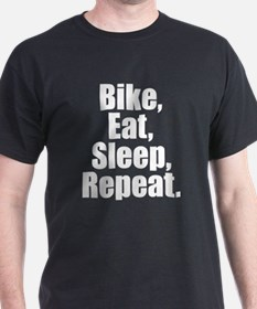 Bike Eat Sleep Repeat T-Shirt